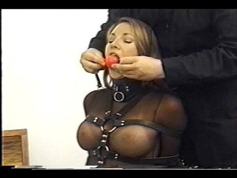 Bondage Blindfolded With Duct Tape