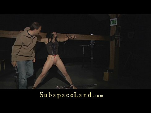 Painful punishment for a hardcore slave bitch