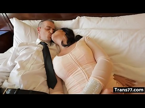Chanel Santini hot tranny fucks guy