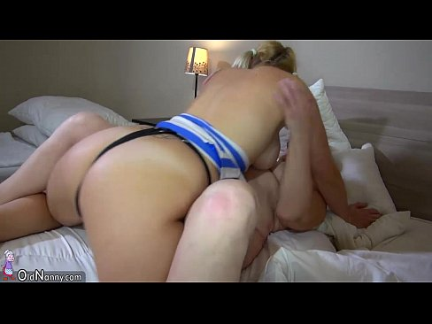 Blonde daddy makeout shared