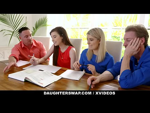 DaughterSwap - Horny Daughters Suck Off Hot Stepdads