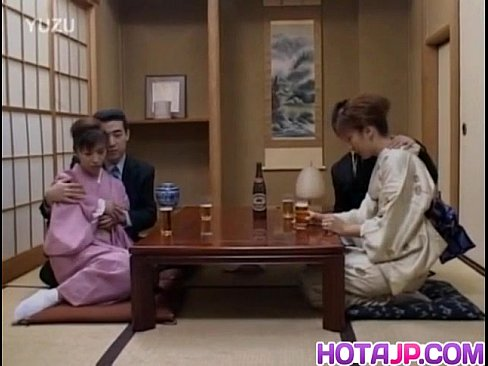 Japanese Milfs Sticks Cock In Her Cunt Next To Other Couple