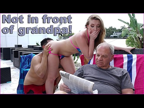 Bruno Fucks Harley Jade In Front Of Her Grandpa Like A Savage