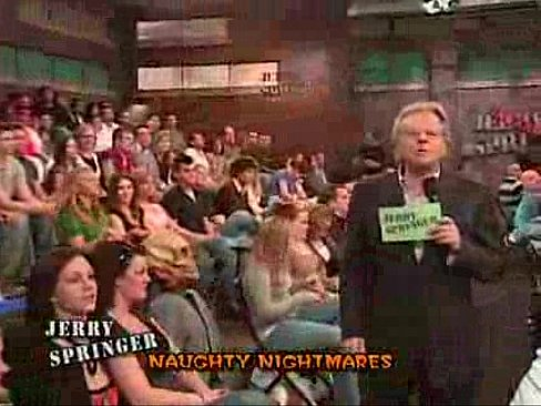 Naked fight on jerry springer right! excellent