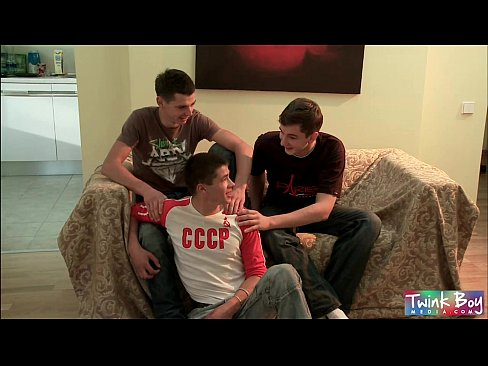 TwinkBoyMedia Three young boys exploring their asses