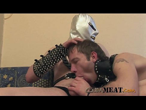 Cum Meat - Slave Get Fuck In The Ass By a Masked Man