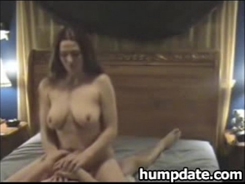 Dani young brunette with long hair and natural tits flashing tits in p