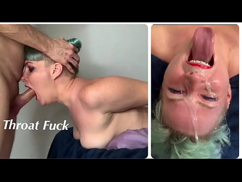 Step Daughter Learns How to Do Extreme Throat Fucking