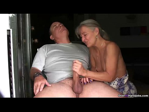 job couple hand mature