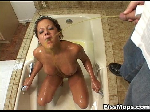 Girl pulls pussy wide open