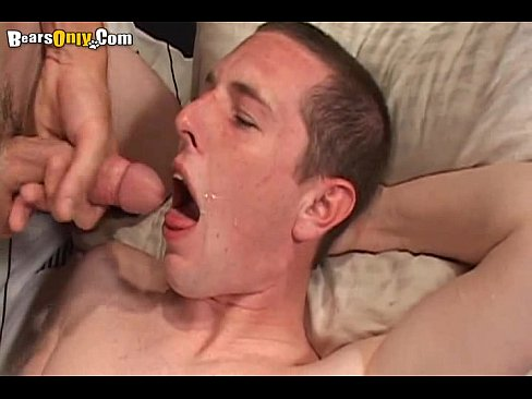 Eat hot cum semen sperm made that