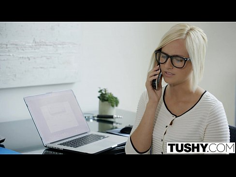 12 Min Hot Secretary Kate England Gets Anal From Client TUSHY.com Hot Porns