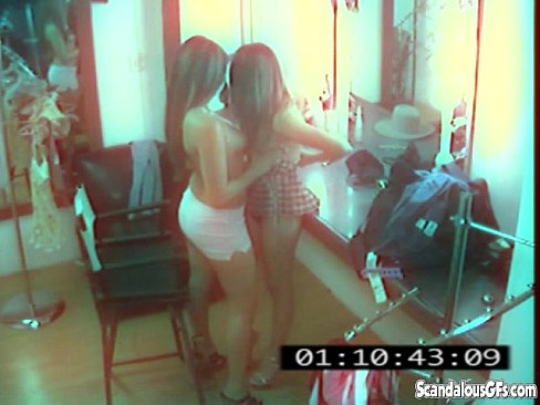 image Cctv captures a hot and skanky lesbian affair