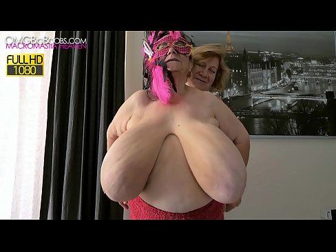 2 grannies with massive natural tits
