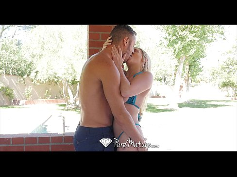 PureMature - Busty Katy Jane massage turns into outdoor fuck fest