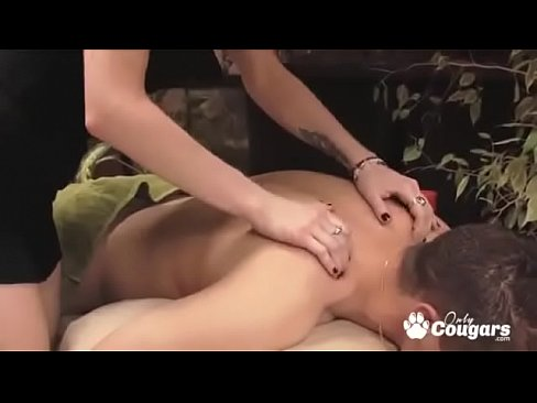 Teen masseuse gives more than a happy ending