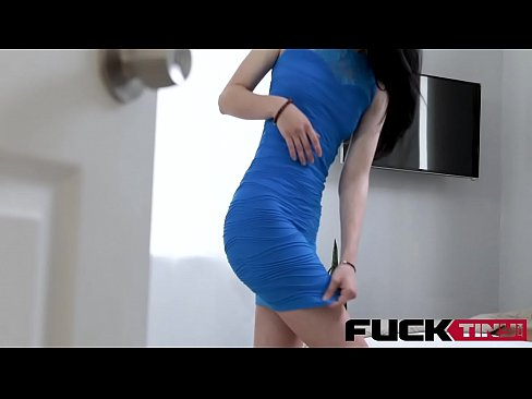 Bambi Black In Tiny Teen Gets Touched In The Trash