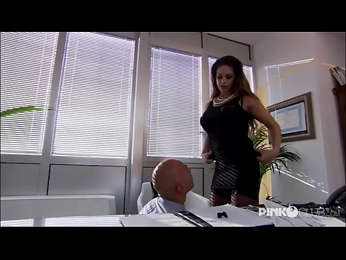 Cathy Heaven Anal in office! Enormous Boobs!
