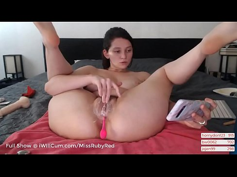Thick PAWG Teen Has The Creamiest Squirting Orgasms You Will Ever See