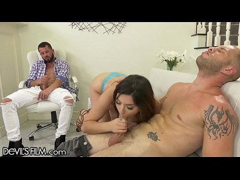 DevilsFilm Hot Bi-Curious Couple Sharing Big Dick