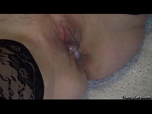 Andrea gangbanged by 4 guys and 1 tgirl
