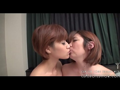 Two Submissive Young Asian Teens Serving Cock P1