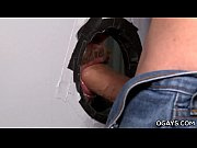 Gay gloryhole fuck