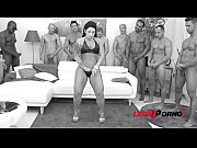 thumb Big Booty Gangs ter Bitch Monica Santiago Gang a Santiago Gangbang With Messy Swallow