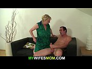 Girlfriends old mother seduces him into cheating sex