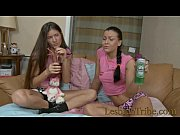 thumb teens lesbians having anal fun with toys and strapon