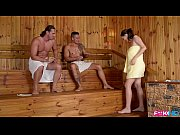 thumb fuckinhd   lucie wilde hot fuck with 2 guys in the sauna
