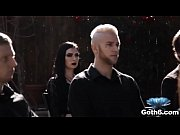 Goth girl Marley Brinx fucked at the funeral