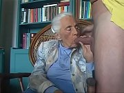 92 years old granny sucking grandson cock FLV