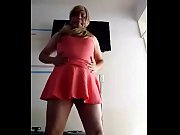 Sissy bitch dancing and gagged Thumbnail