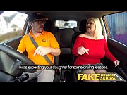 thumb Fake Driving  School Busty Mature Milf Sucks And Fucks Lucky Instructor