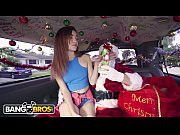 BANGBROS Petite Teen Kiley Jay Giving Back To Santa Claus on Bang Bus