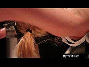Sexy blond sexy chick adicted to bdsm