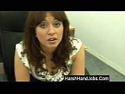 Brunette boss takes it out on employee Thumbnail