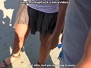 thumb Young Girl Gets  Facial Cumshot In Public  In Public