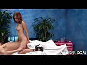 Lusty beauty gets biggest facial