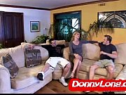 thumb Donny Long B reaks Skinny Milf Asshole And Dp Her With Friend