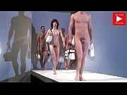 naked guys on fashion show for woman