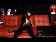D1Dirtybitch4u Showing Her Body in Black Latex Catsuit Private