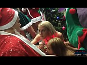 College amateur xmas party turns into a wild fuck orgy Thumbnail