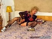 Hairy Granny Gets Pounded Hard By A Young Dick Thumbnail