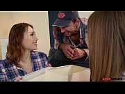 thumb Horny College R oomates Alessandra And Macy 1s dra And Macy 1st Time Threesome