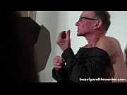 thumb tempting teen loren gets nailed by two old guys