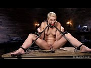 Blonde clit suctioned and anal toyed