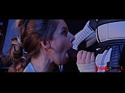 Busty Star Wars Princess Stella Cox Ass Fucked By Stormtrooper&#039_s Black Dick GP099