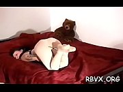 Big guy disciplines a whore with a bondage session